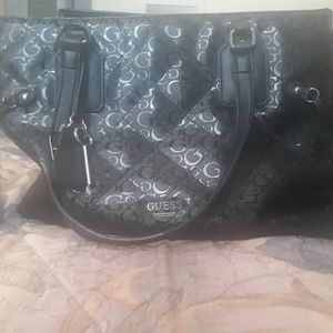 Guess los angeles black purse